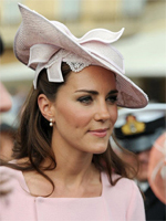 Kate Middleton with Pearls