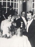 King Carol and mistress Elena Lupescu