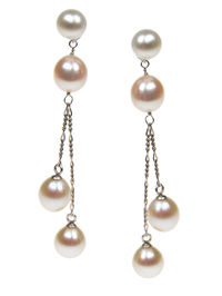 'Joy of Life' Pearl Drop Earrings