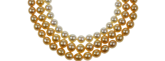 South Sea Golden Pearl Strands2
