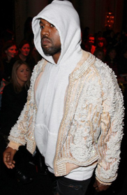 Kanye West balmain