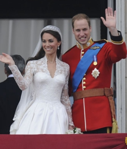 Will and Kate married