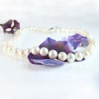 classic white + petals