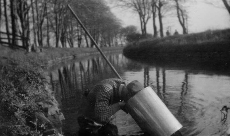 Alfred pearl fishing 1, Inverurie