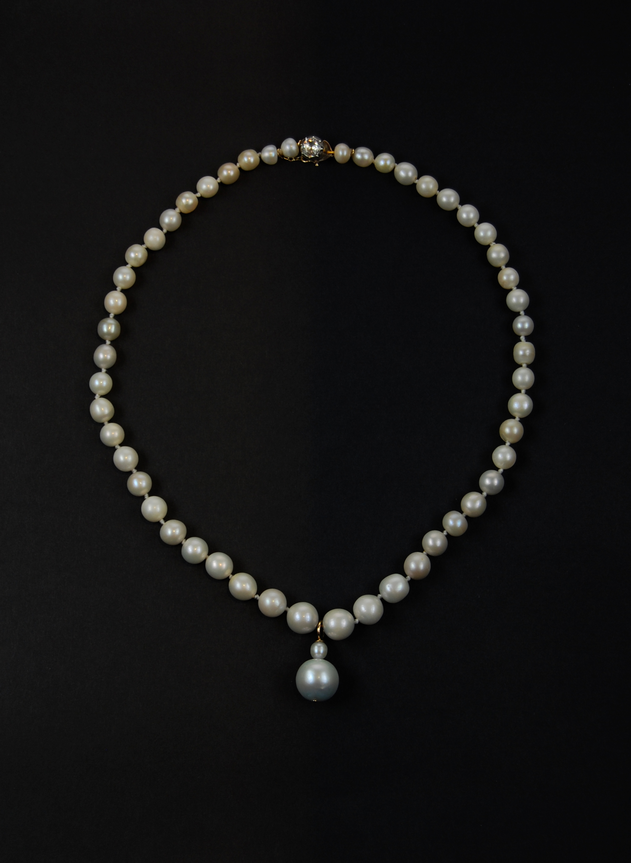 LadyDysart Natural FW pearl Necklace